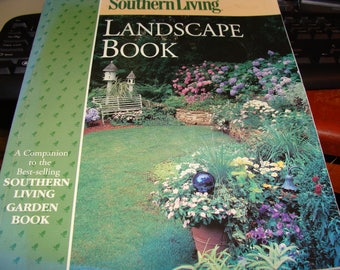 Landscape Book By Southern Living Magazine, So.Living Landscaping Photos and Instructions, Beautiful, Over 400 Pages
