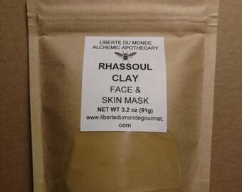 Rhassoul Clay Powder Face & Skin Mask