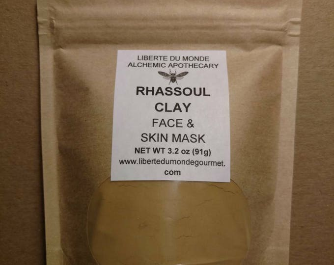 Rhassoul Clay Powder Face & Skin Mask