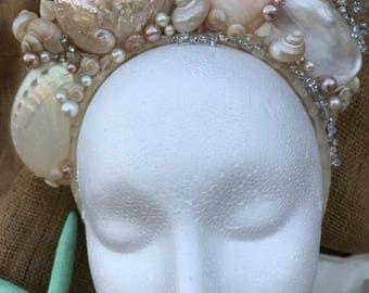 Mermaid Crown, Wedding Headpiece