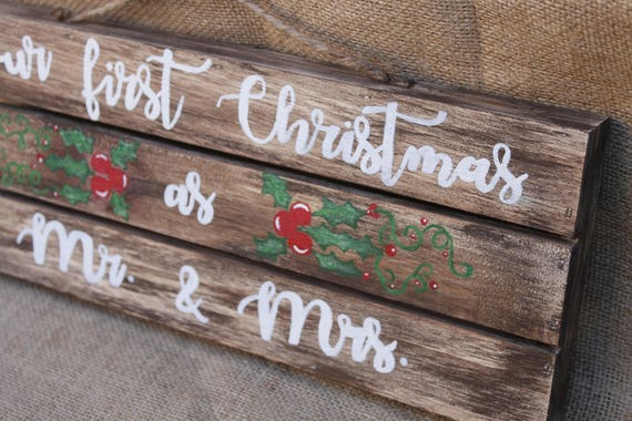 jessielane end of year salechristmas signfarmhouse christmas signrustic christmas decorour first christmaschristmas decorchristmas gift