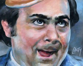 Canvas Print / Danny Devito Louie Taxi Pancake Cab Light Portrait