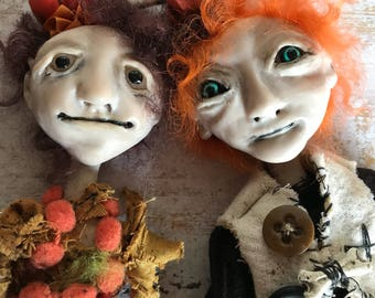 OOAK Pumpkin Fellows by LulusApple