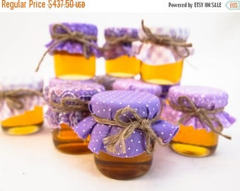 SALE 15% Off Ends Sunday 175 Purple Wedding Favors or Lavender Wedding Favors in Shabby Chic Design with Twine