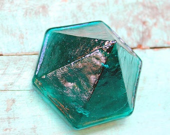 Emerald Sea Glass Deck Prism by SEASTYLE