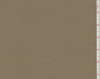 Golden Brown Rayon Suiting, Fabric By The Yard