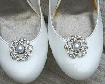 Rhinestone Shoe Clips,  Bridal Shoe Clips, Rhinestone Shoe Clips, Crystal Shoe Clips, Wedding Clips for Wedding Shoes, Bridal Shoes, shoe