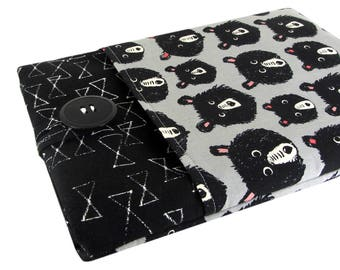 Laptop Sleeve Custom Fitted - Can Be Made For Any Laptop 15.6, 13 Inch, 13.3, 12 Inch, Bear