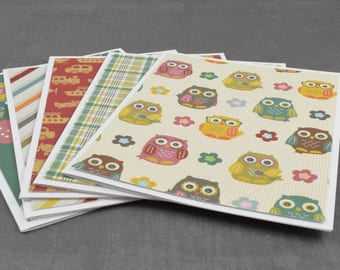 Kids Cards, Birthday Card Kid,  Pack of Greeting Cards, Assorted Cards, Set of Cards, Blank Greeting Cards, Stationery Cards, Blank Cards