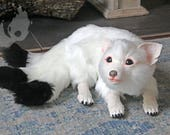 Poseable art doll Kitsune
