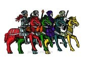 Four Horsemen- Phish Art Print