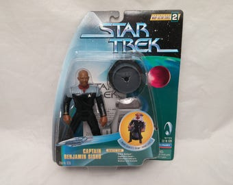 Star Trek Deep Space Nine Captain Benjamin Sisko Action Figure - New in Box - NIB - Serialized Warp Factor Series 2