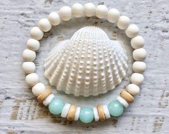 beach bracelet, shell bracelet,mermaid jewelry, beachcomber bohemian bracelet