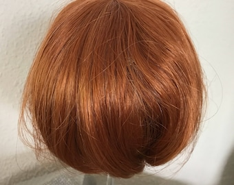 Wig for doll, 12-13 carrot