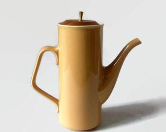 Mid Century Modern Coffee Pot, Taylor Smith Taylor Ceramic Pitcher, Vintage Coffee Carafe