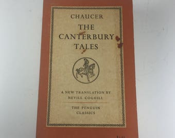 The Canterbury Tales by Geoffrey Chaucer, Paperback, 1958