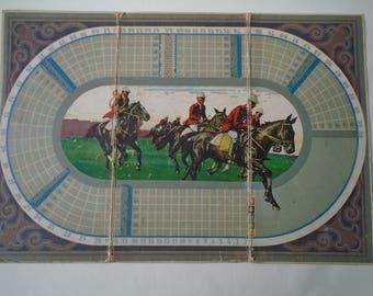 Vintage Hunt Game Board  Hallali