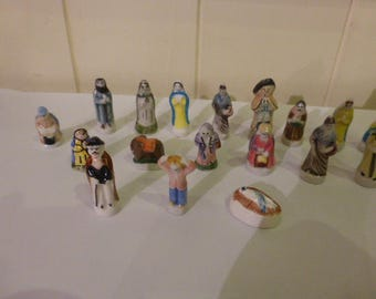 23 Feves, Charm's,  French, Epiphany Cake Charms.