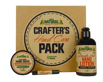Sam's Natural - Crafter's Hand Care Pack For Women - Gifts - Natural, Vegan + Cruelty-Free