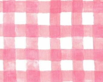 Mini Painted Gingham (Blossom) - Double Gauze - Sarah Jane - Sommer - Michael Miller Fabrics - 1 Yard