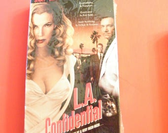 L.A. Confidential VHS Video Tape 1997  New Factory Sealed Kim Basinger Russell Crowe Guy Pearce Thriller