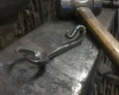 Hand forged scorpion bottle opener