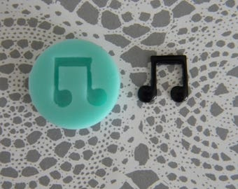 Flexible Mold - Music Note
