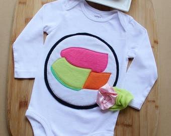 Sushi Roll Baby Costume, Maki Sushi Costume, Halloween Costume, Sushi Costume, Baby Costume, Newborn Costume, My Little Mookie