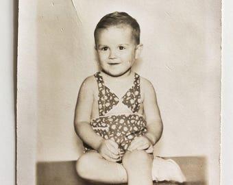 Original Vintage Portrait Photograph | Billy