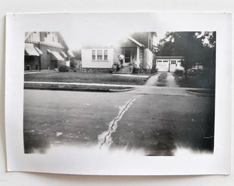 Original Vintage Photograph | Suburbia