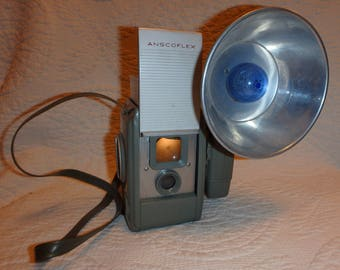 Anscoflex Camera and Flash Unit