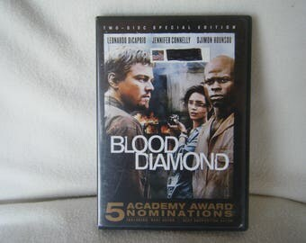 DVD Movie Blood Diamond - Used