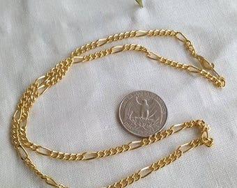 "Nice 14k gp Chain, 19 3/4"""