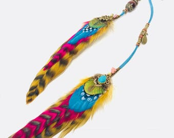 Lucy In The Sky - Kids Feather Hair Clip