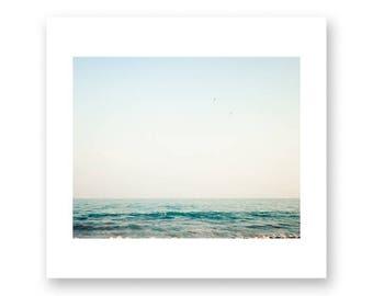 Minimalist art, minimalist wall art, large wall art, large art, canvas art, ocean art, ocean wall art, water art, water wall art, blue art