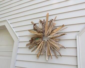 "Driftwood Wreath 30"" ""Winds Wonders"""