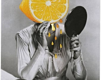 Dont be a Lemon - Large limited (5) Signed and numbered print