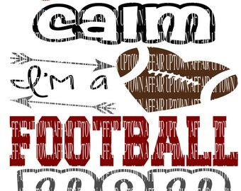 Football Mom SVG/DXF/PNG Digital Cut File