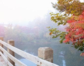 SALE, Wall art canvas, fall photography, canvas art, purple wall art, autumn art, extra large wall art, fall prints, Vermont, New England