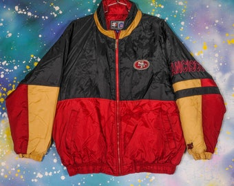 San Francisco 49ERS Starter Jacket Size 2XL