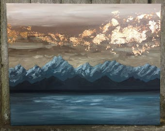 Into the Mystic / Mountain Painting