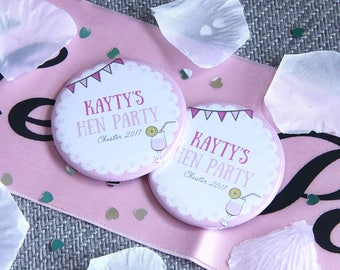 HEN PARTY COCKTAIL design - Magnets x 10