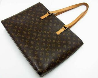 Louis Vuitton monogram bag vtg