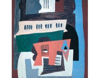 Pablo Picasso-Piano-1997 Poster