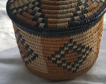 Native American Hand Made Basket