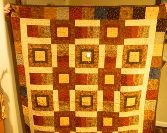 Hip To Be Square Lap Quilt