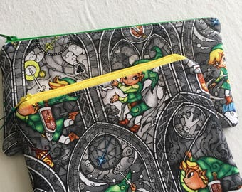 Legend of Zelda Zipper Pouch Bag
