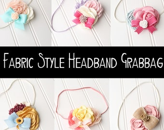 Fabric Style Headband Grab Bag - over 35% off  **NO ADDITIONAL DISCOUNTS**