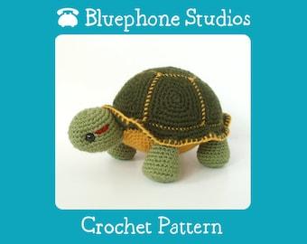 Crochet Pattern: Orion the Turtle