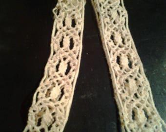 COUPON lace bobbin color Ecru old REF. 19days